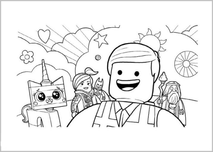 Lego Malvorlagen  Ausmalbilder zum Ausdrucken Gratis Malvorlagen The LEGO