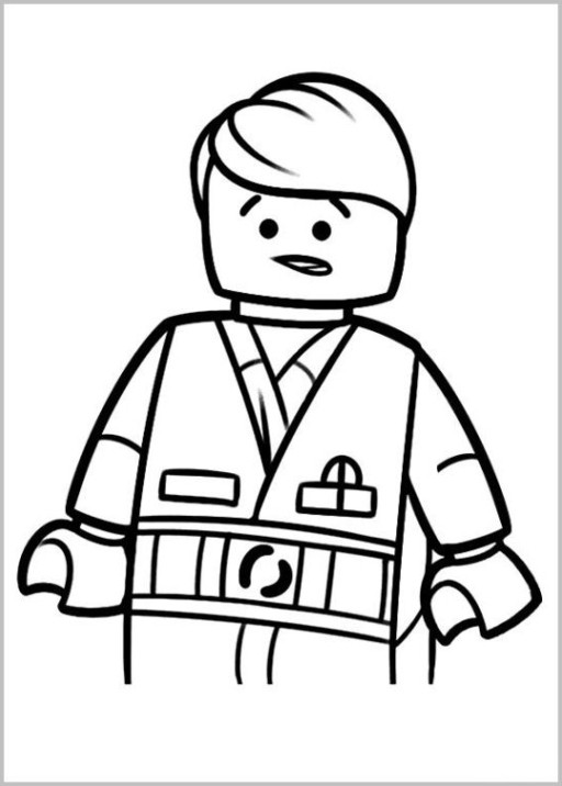 Lego Malvorlagen  Vorlagen zum Ausdrucken Ausmalbilder The LEGO Movie