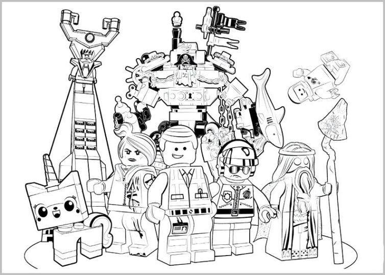 Lego Malvorlagen  lego movie ausmalbilder 836 Malvorlage Lego Ausmalbilder