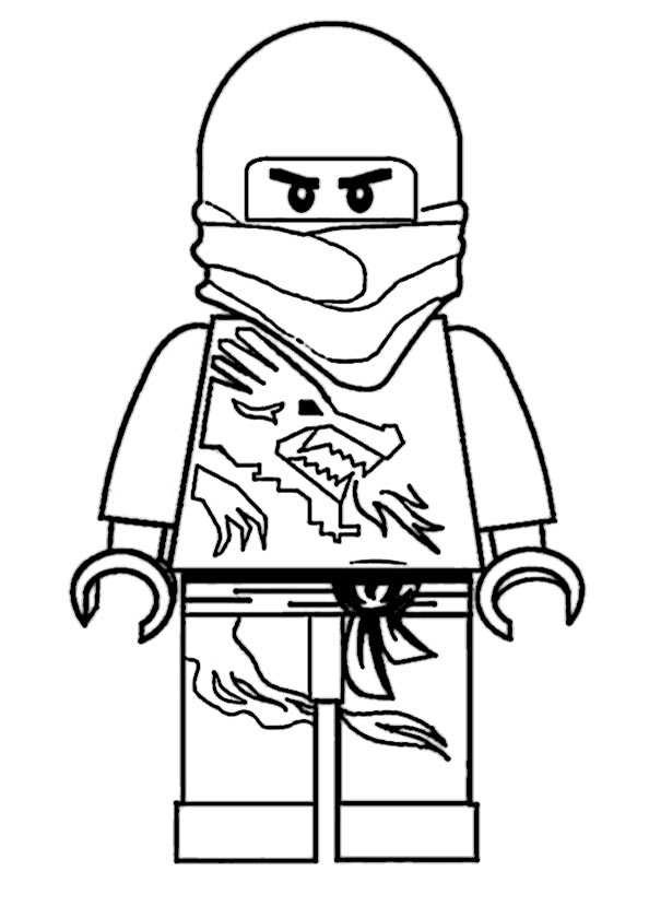 Lego Ninjago Ausmalbilder  Ausmalbilder kostenlos Ninjago 14