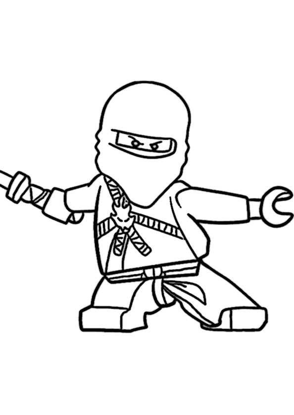 Lego Ninjago Ausmalbilder  Ausmalbilder kostenlos Ninjago 17