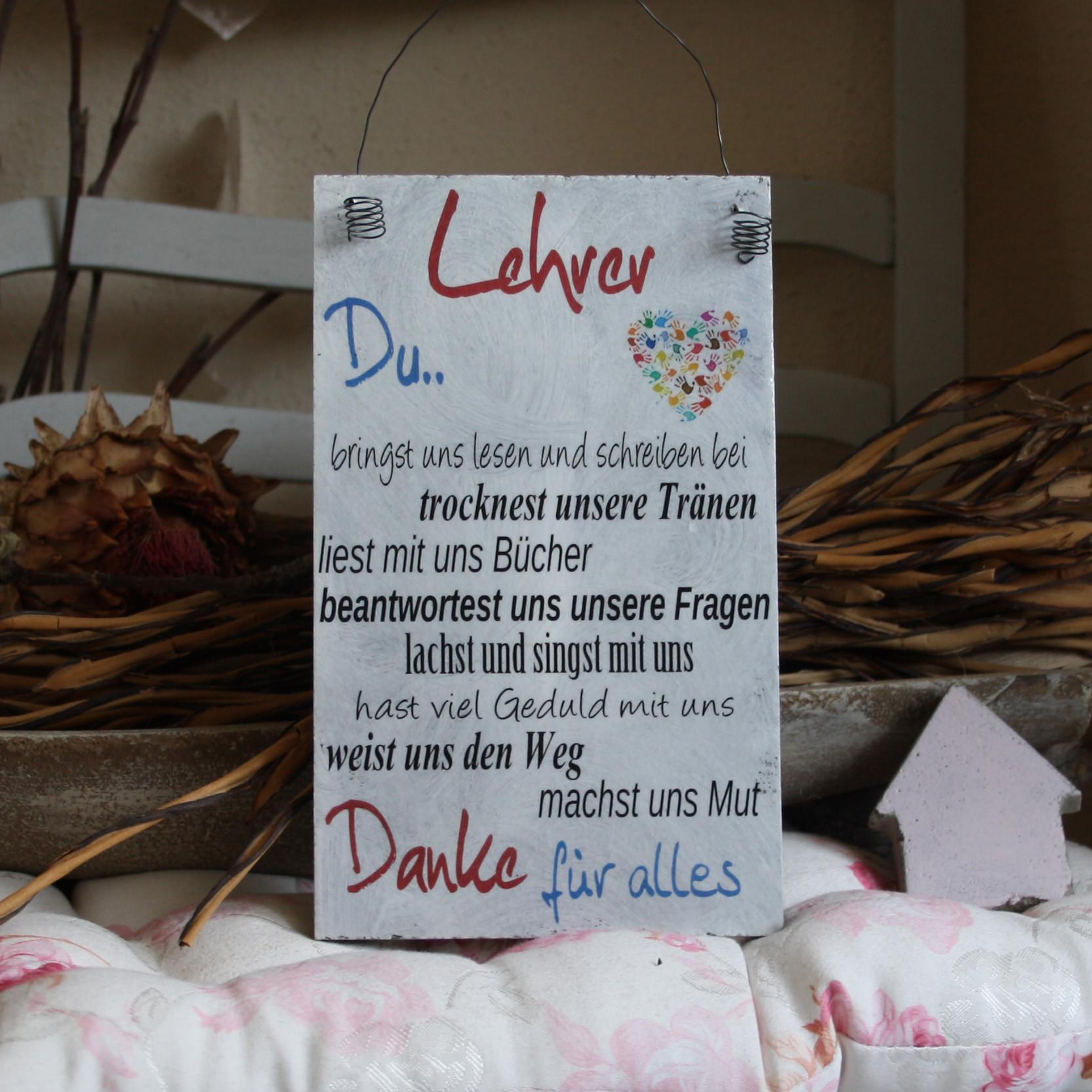 Lehrer Geschenke  Geschenk fur lehrer abschied – Beliebte Geschenke für Ihre