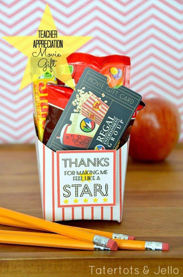 Lehrer Geschenke  15 schöne DIY Geschenke für Lehrer Anerkennungs Tag