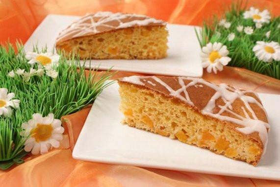 Leichter Kuchen  Leichter Aprikosen Buttermilch Kuchen Rezept