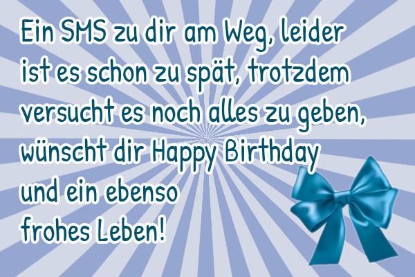 Lustige Geburtstagsgedichte  Geburtstag Gedichte