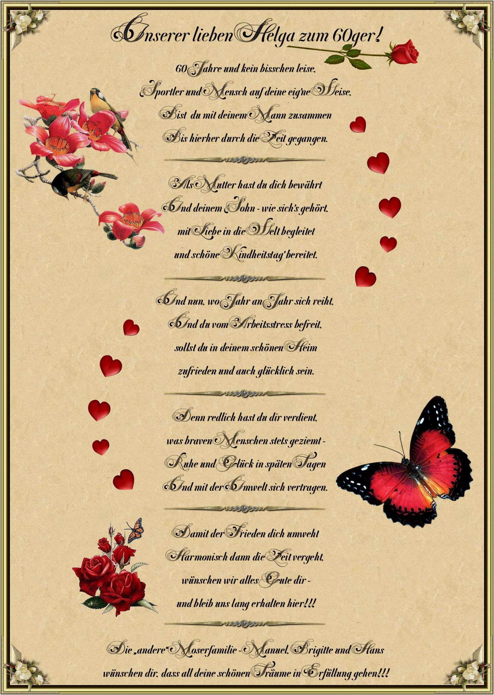Lustige Geburtstagsgedichte  Zitate Zum 40 Geburtstag Frau