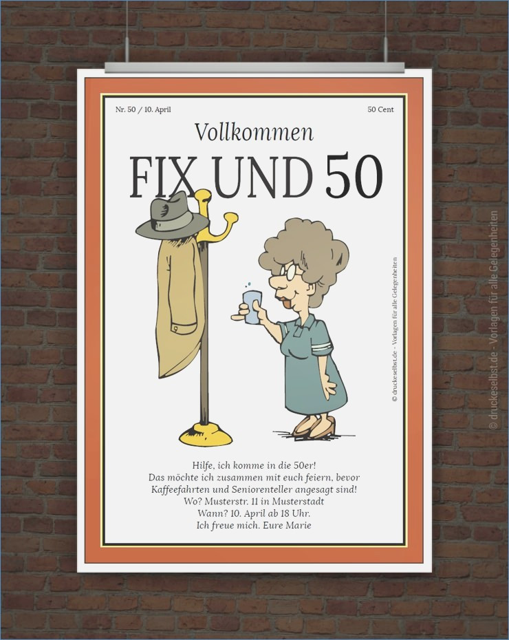 Lustige Geburtstagsgedichte Zum 50  Lustige Ideen 50 Geburtstag – travelslow