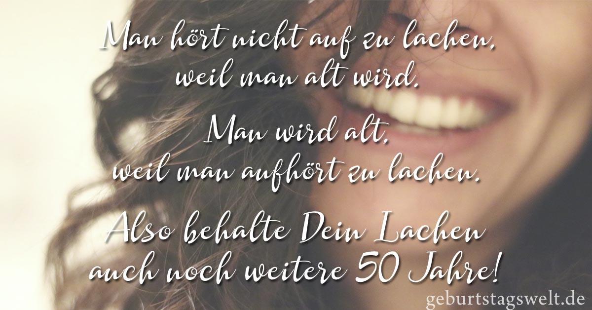 Lustige Geburtstagsgedichte Zum 50  ll Zum 50 Geburtstag Sprüche Glückwünsche und