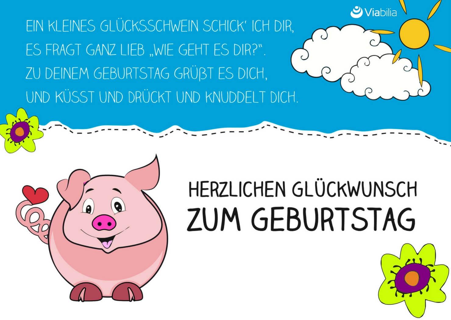 Lustige Geburtstagskarten Für Frauen Kostenlos  Geburtstagskarten kostenlos als PDF ausdrucken
