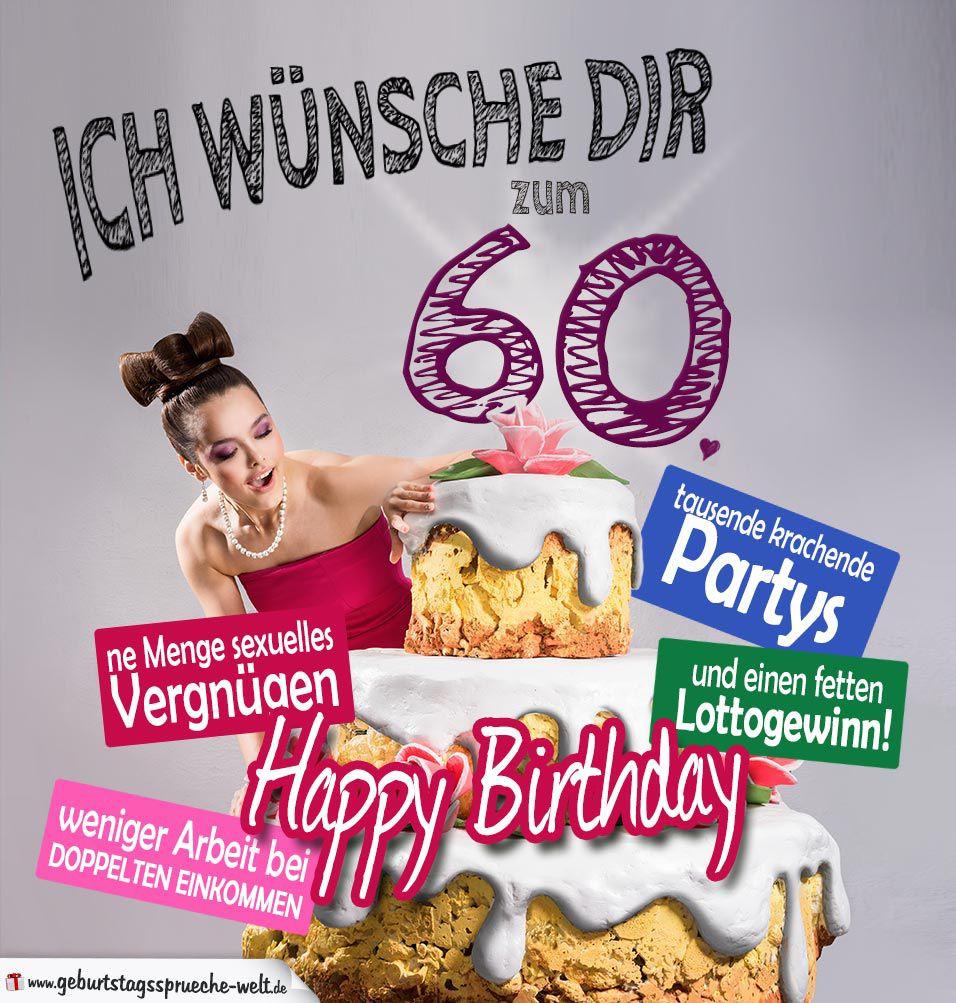 Lustige Geburtstagskarten Für Frauen Kostenlos  Lustige Geburtstagskarten Zum 60 Geburtstag Kostenlos