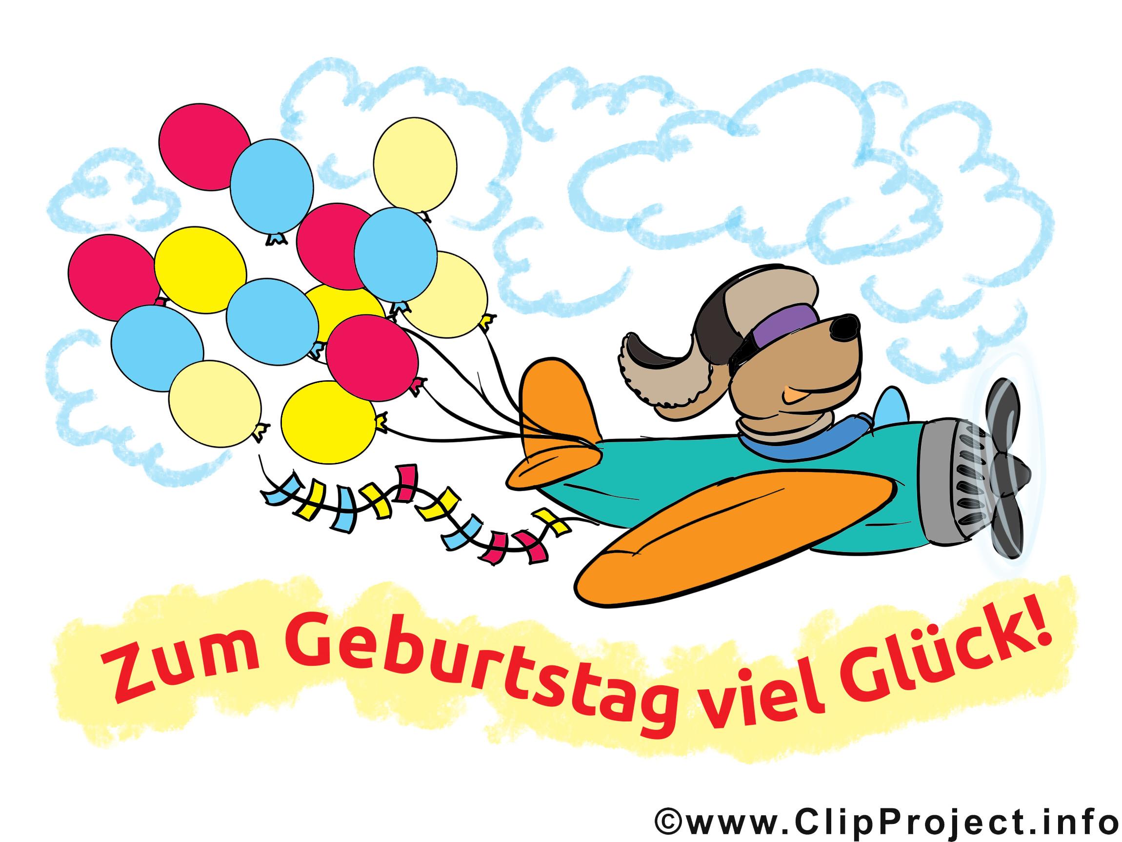 Lustige Geburtstagswünsche  Lustige Geburtstagswünsche als Cliparts Karten Bilder