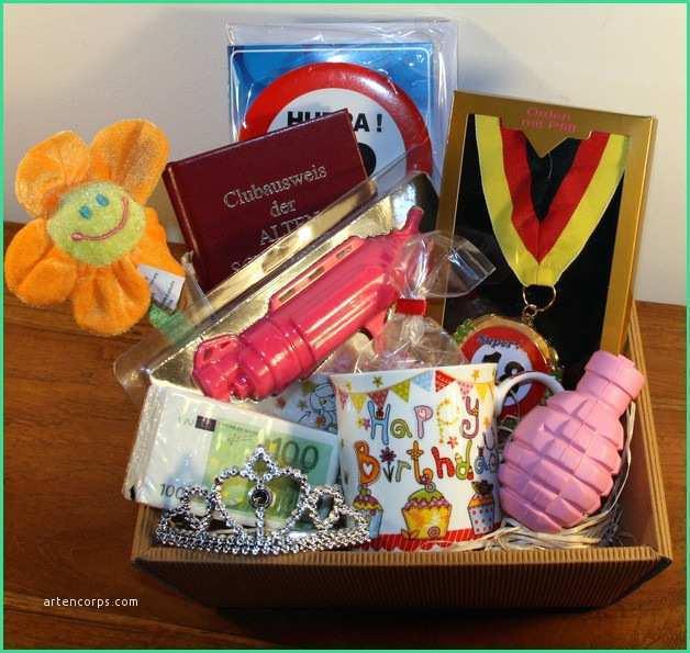 Lustige Geschenke Für Frauen  Lustige Geschenke 18 Geburtstag Selber Machen Great