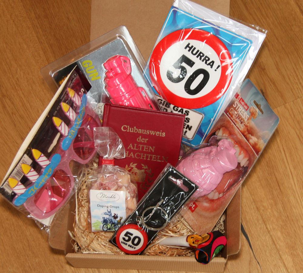 Lustige Geschenke Für Frauen  50 Geburtstag Geschenk Frau Geschenkidee