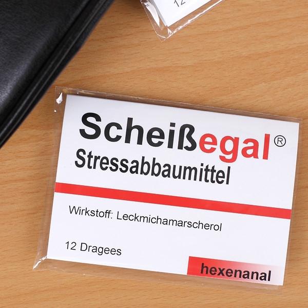 Lustige Geschenke Für Männer  Kaugummi Stressabbaumittel Scheissegal 1