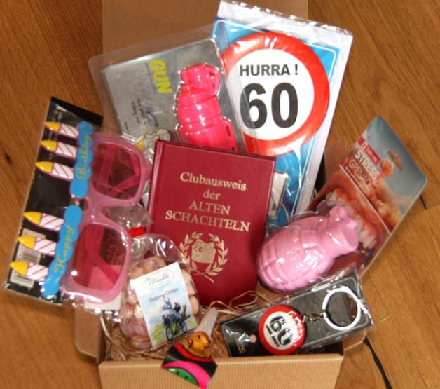 Lustige Geschenke Zum 60. Geburtstag Für Männer  Geschenke für Frauen 60 Geburtstag Geschenk Frau ein