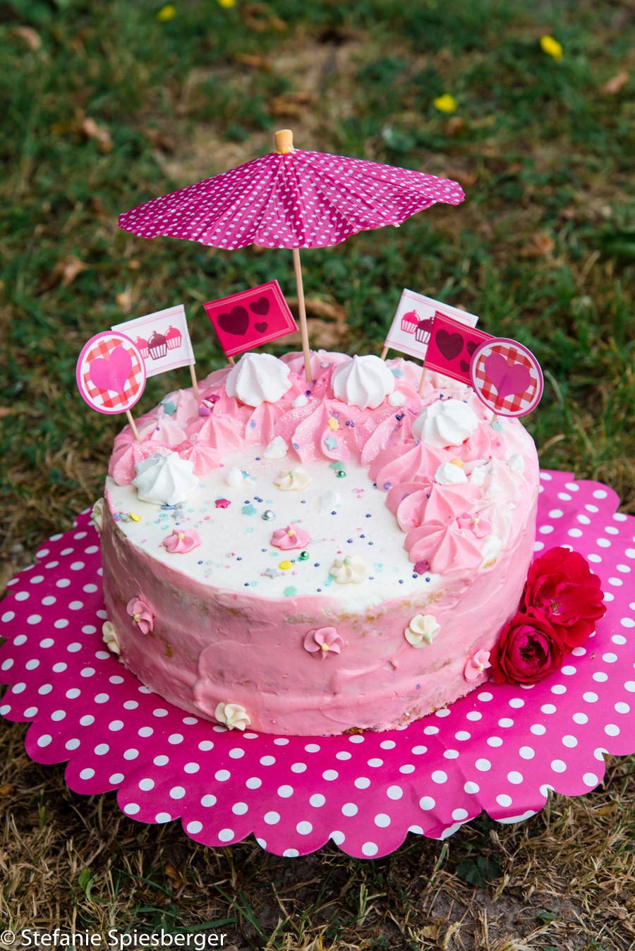 Mädchen Geburtstagstorte  Geburtstagstorte für Mädchen Rezept für Smash the Cake