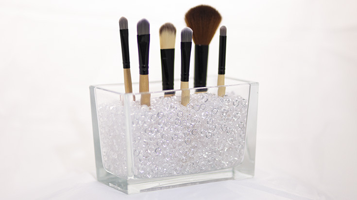 Make Up Aufbewahrung Diy  Make up Pinsel Aufbewahrung