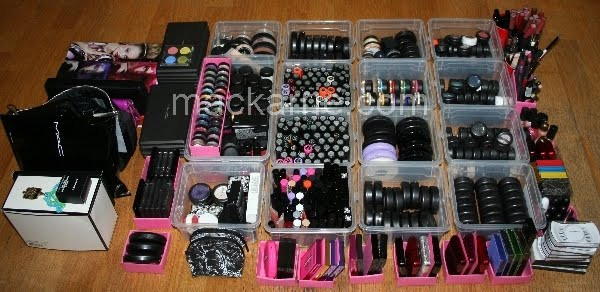 Make Up Aufbewahrung Diy  MacKarrie Beauty Style Blog Make Up Collection Storage