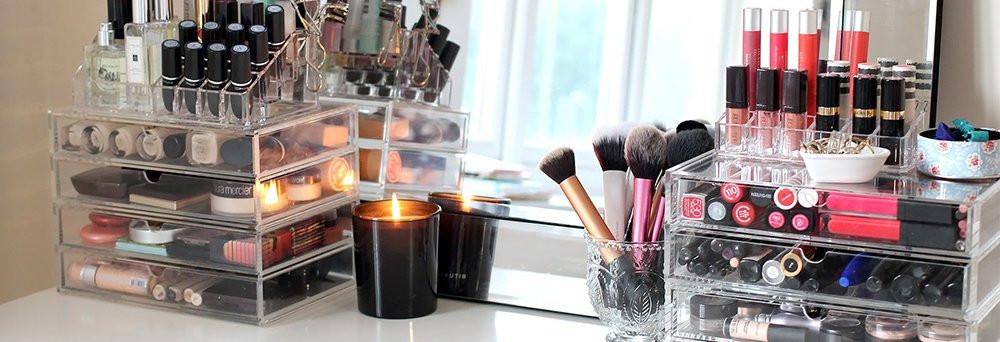 Make Up Aufbewahrung Diy  Wie du dein Make Up sinnvoll aufbewahren und zeigen