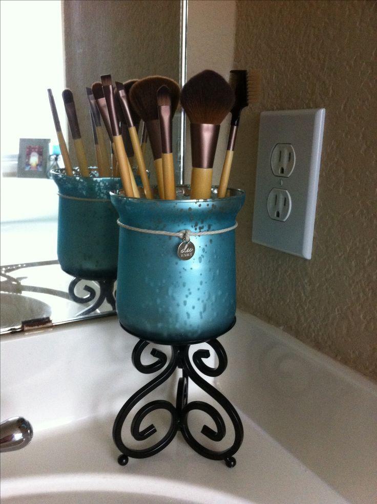 Make Up Organizer Diy  My DIY makeup organizer Make Up Pinterest