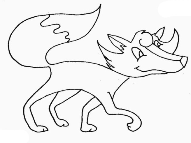 Malvorlagen Fuchs  Schöne Ausmalbilder Malvorlagen Fuchs ausdrucken 4