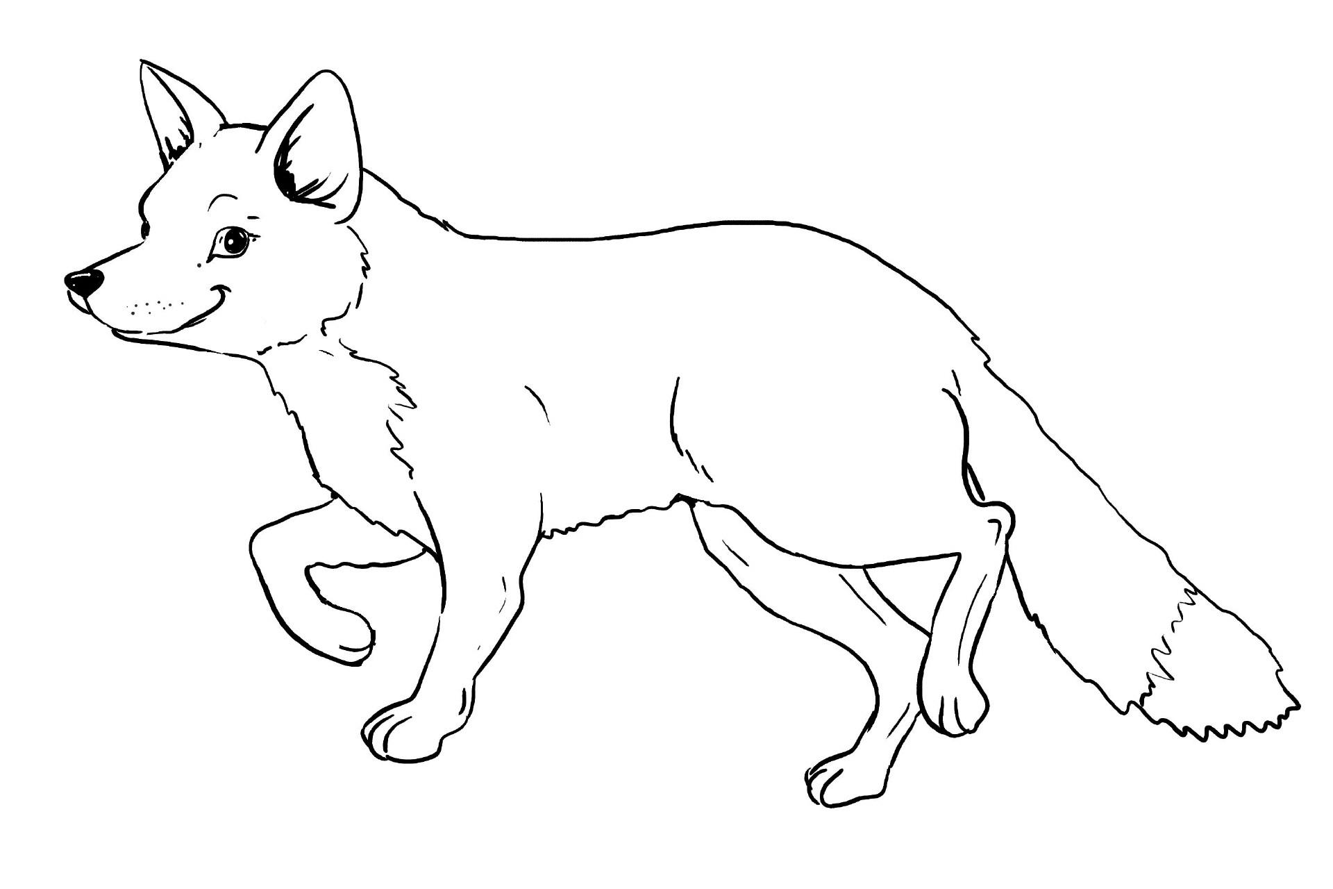 Malvorlagen Fuchs  Ausmalbilder fuchs kostenlos Malvorlagen zum ausdrucken