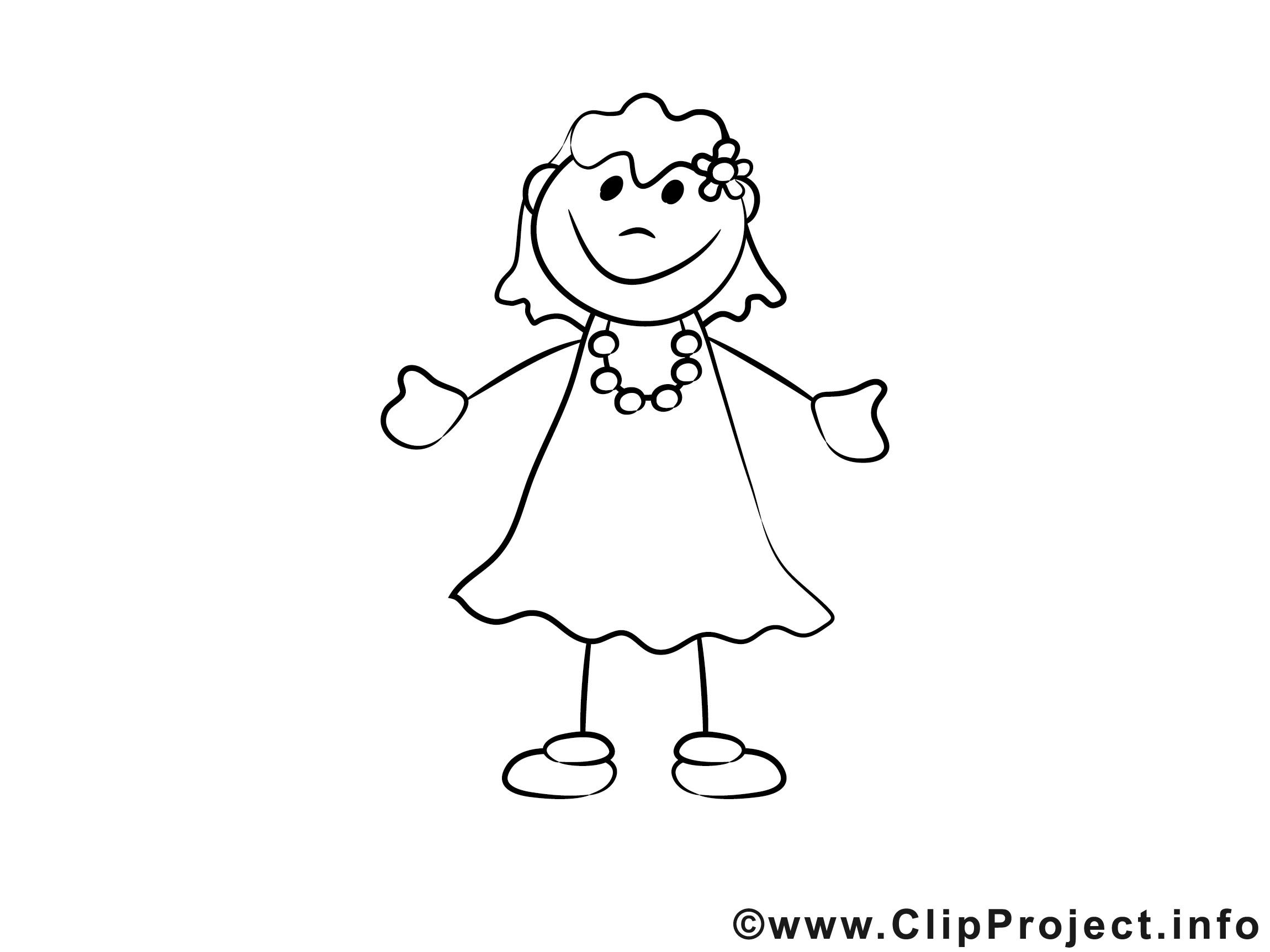 Malvorlagen Für Mädchen  Fröhliches Mädchen Ausmalbild für Kinder kostenlos ausdrucken