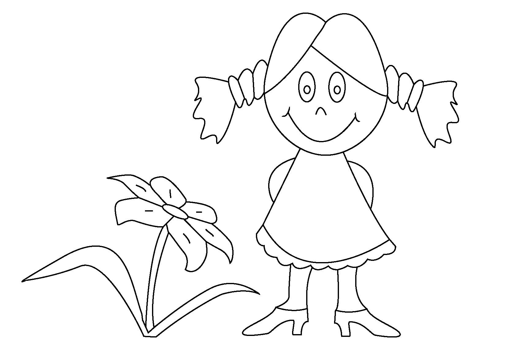 Malvorlagen Für Mädchen  Ausmalbilder Malvorlagen – Mädchen kostenlos zum
