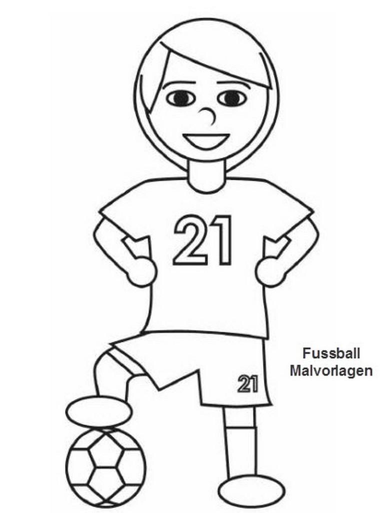 Malvorlagen Fußball  fussball cartoon malvorlagen bilder fussball cartoon