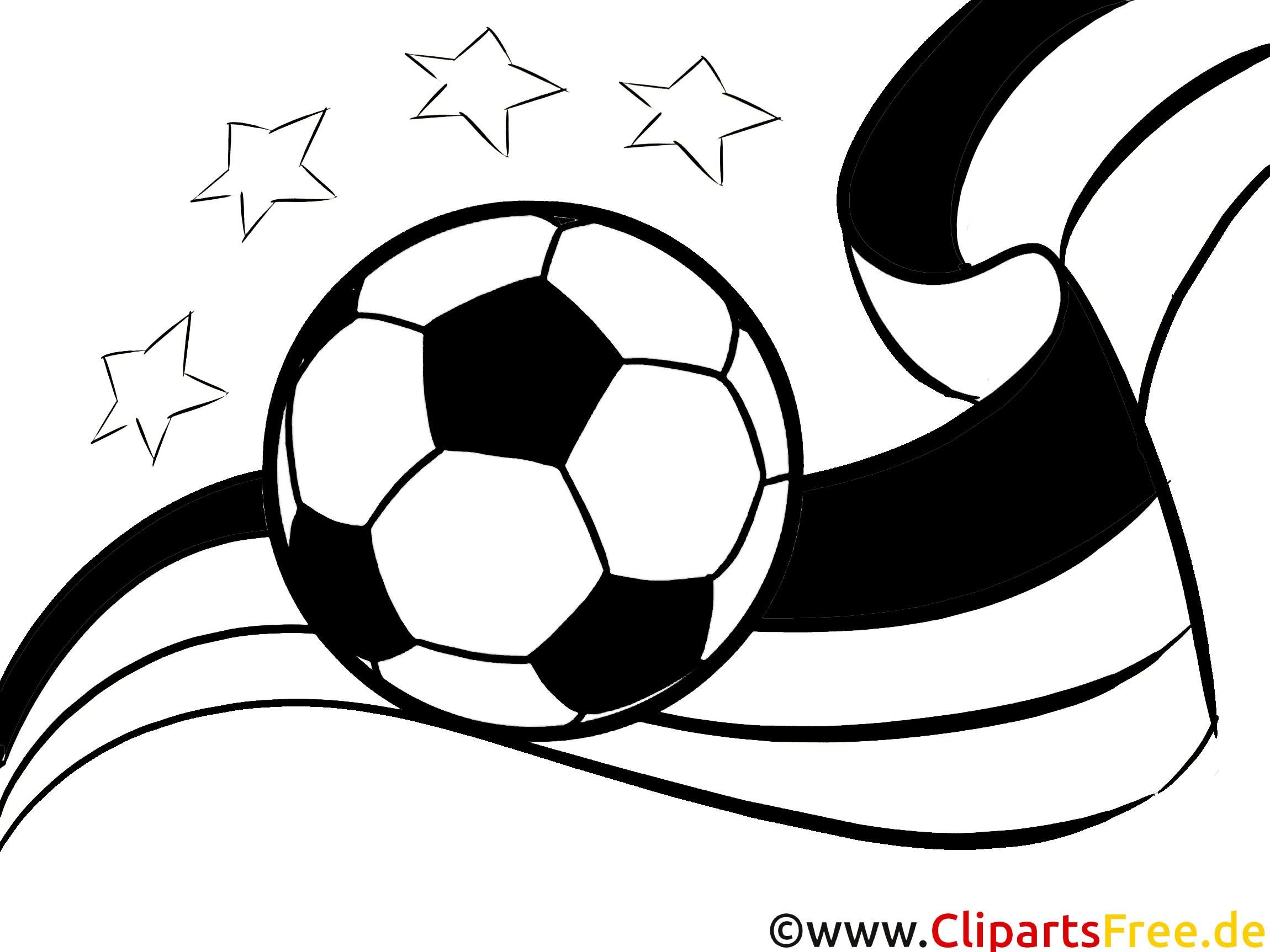 Malvorlagen Fußball  Malvorlage Fussball EM und WM