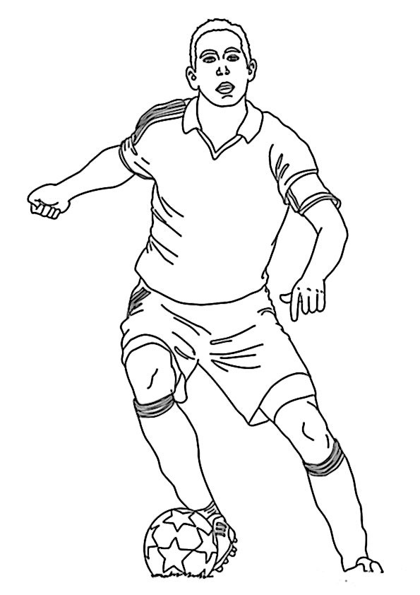 Malvorlagen Fußball  malvorlagen fußball 6