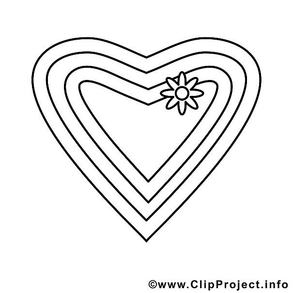 Malvorlagen Herz  Herz Ausmalbild zum Ausmalen