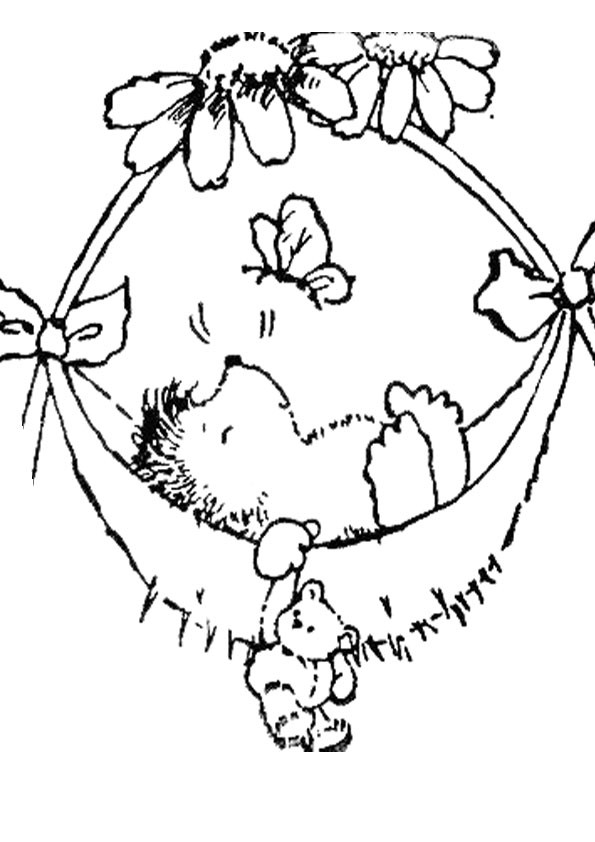 Malvorlagen Igel  igel ausmalbilder 4