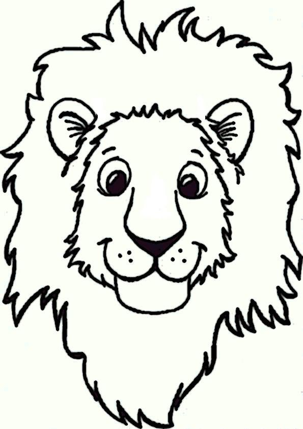 Malvorlagen Löwe  löwe 15