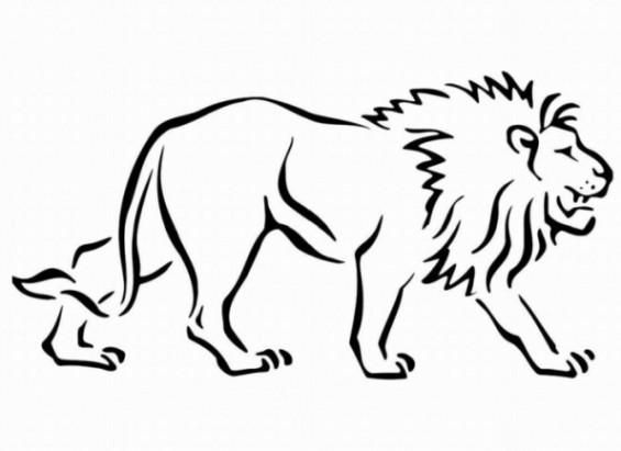 Malvorlagen Löwe  Schöne Ausmalbilder Malvorlagen Löwe ausdrucken 3