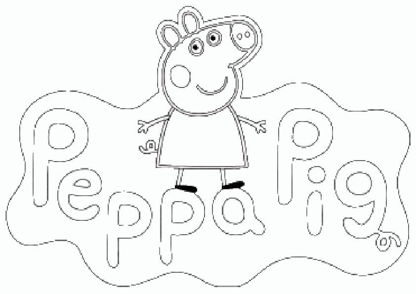 Malvorlagen Peppa Wutz  Ausmalbilder Peppa Pig 11