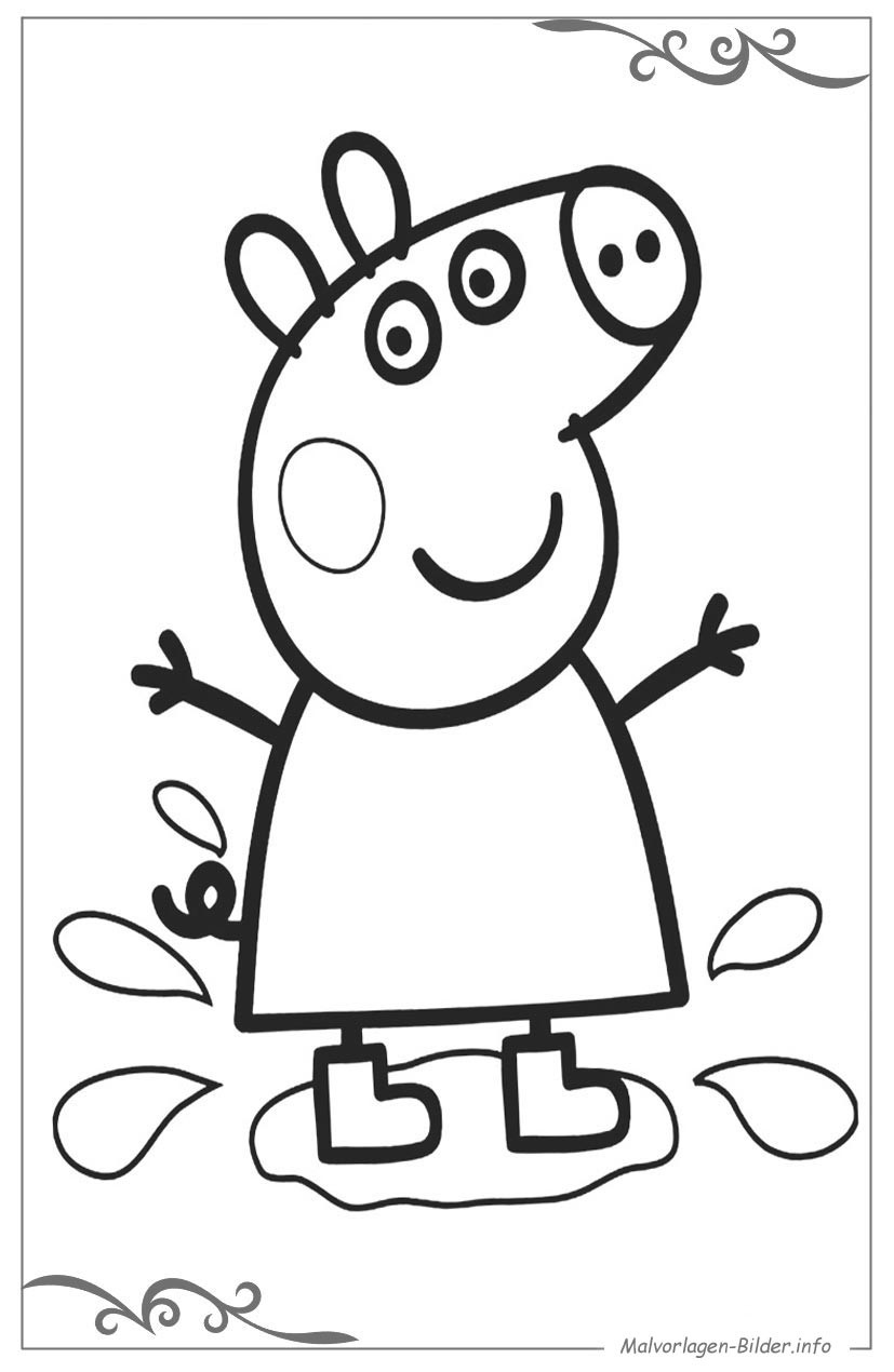Malvorlagen Peppa Wutz  Peppa Wutz malvorlagen und ausmalbilder für kinder
