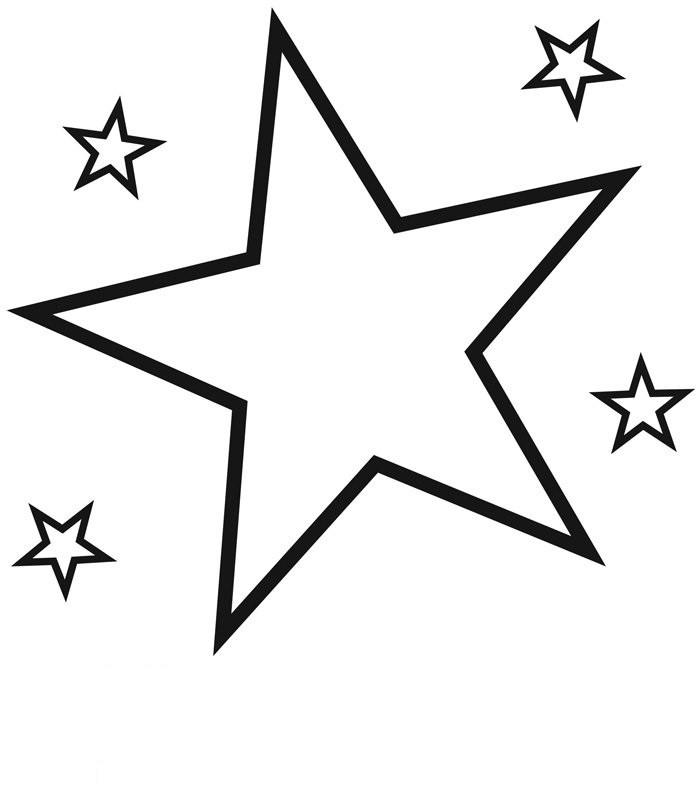 Malvorlagen Stern  Ausmalbilder Stern 02