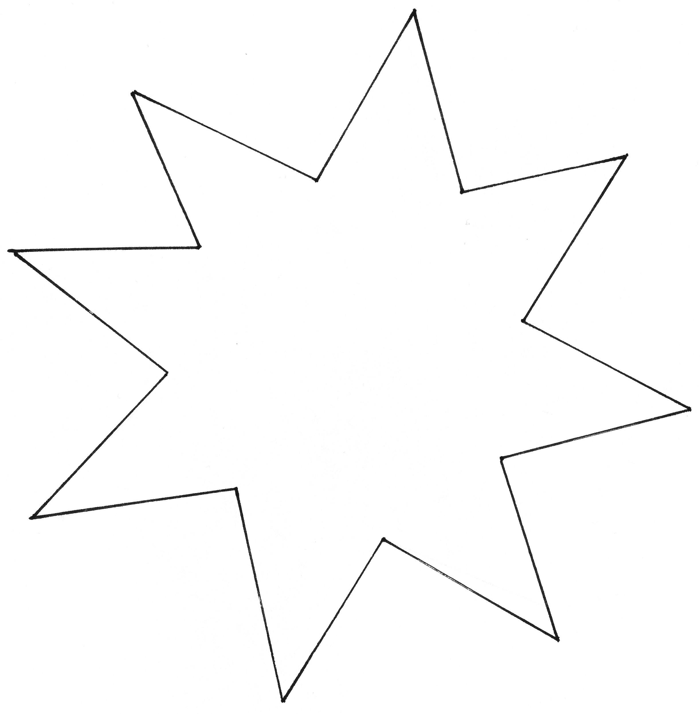 Malvorlagen Stern  Ausmalbilder stern kostenlos Malvorlagen zum ausdrucken