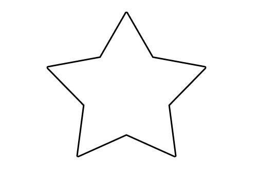 Malvorlagen Stern  Kostenlose Malvorlage Winter Stern zum Ausmalen