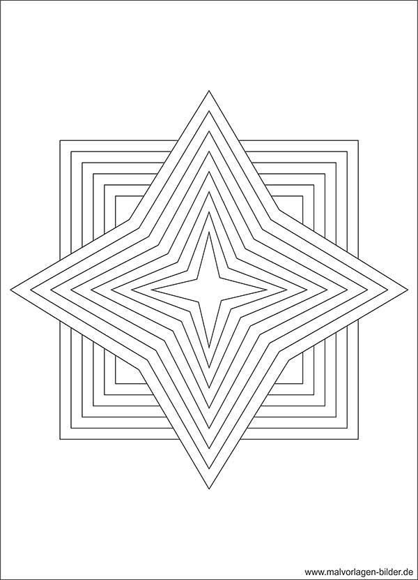 Malvorlagen Stern  Stern Vorlage Ausmalbilder ab 10 Jahren Ausmalbilder