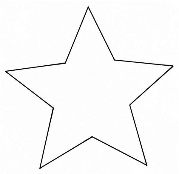 Malvorlagen Stern  Die besten 25 Ausmalbild stern Ideen auf Pinterest