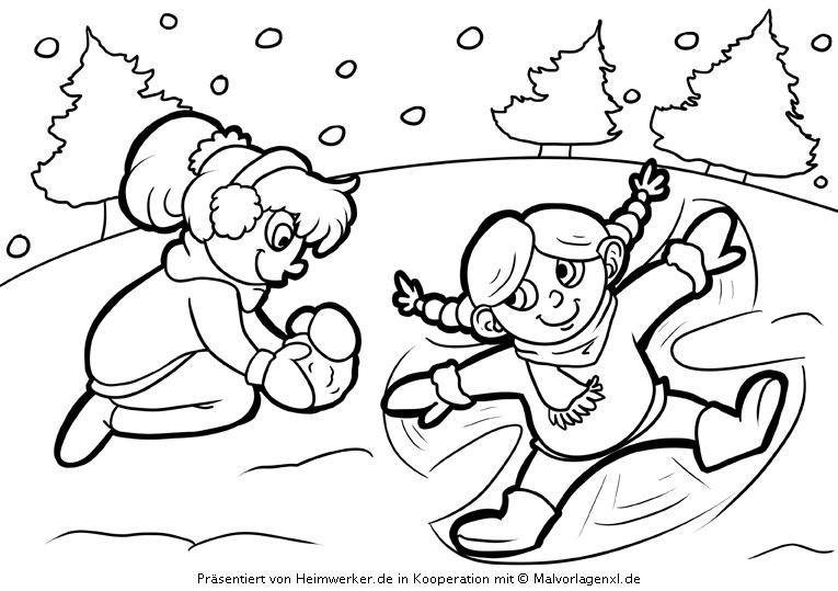 Malvorlagen Weihnachten Winter  Malvorlagen Weihnachten Adventskranz