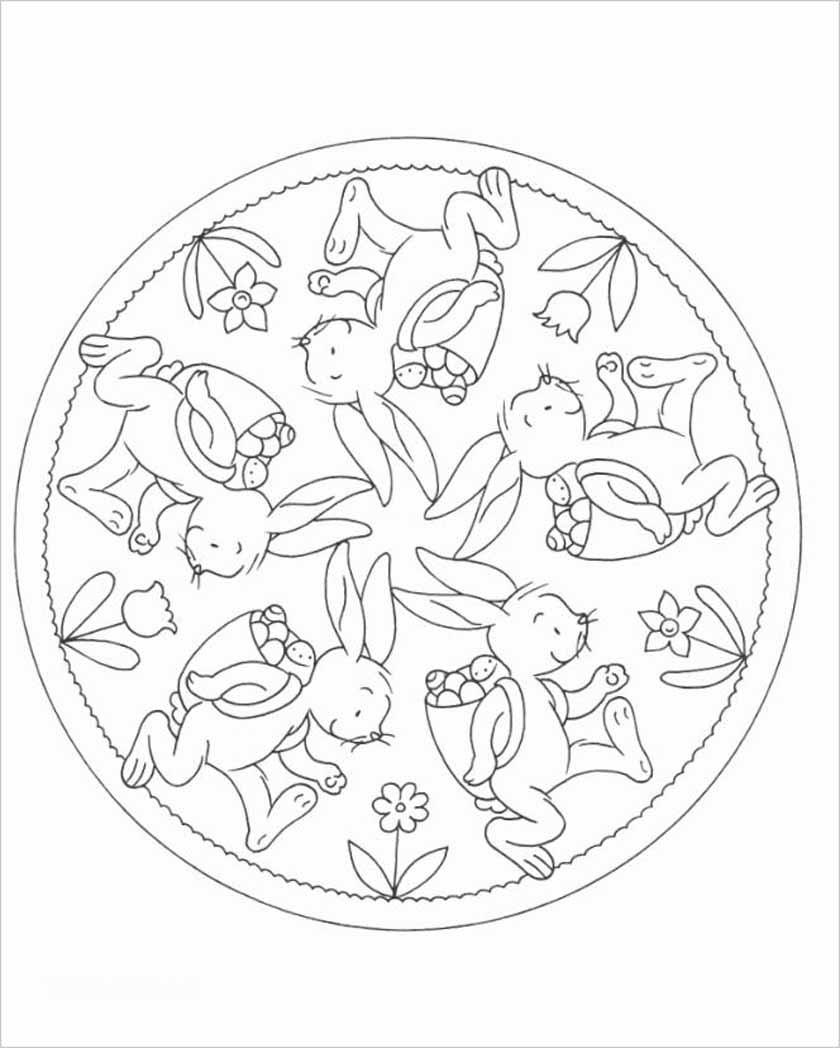 Mandala Ostern Malvorlagen  88 zauberhafte Mandalas – Ostern Tanzversand Shop