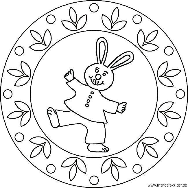Mandala Ostern Malvorlagen  Ausmalbilder Mandala Osterhase 173 Malvorlage Ostern