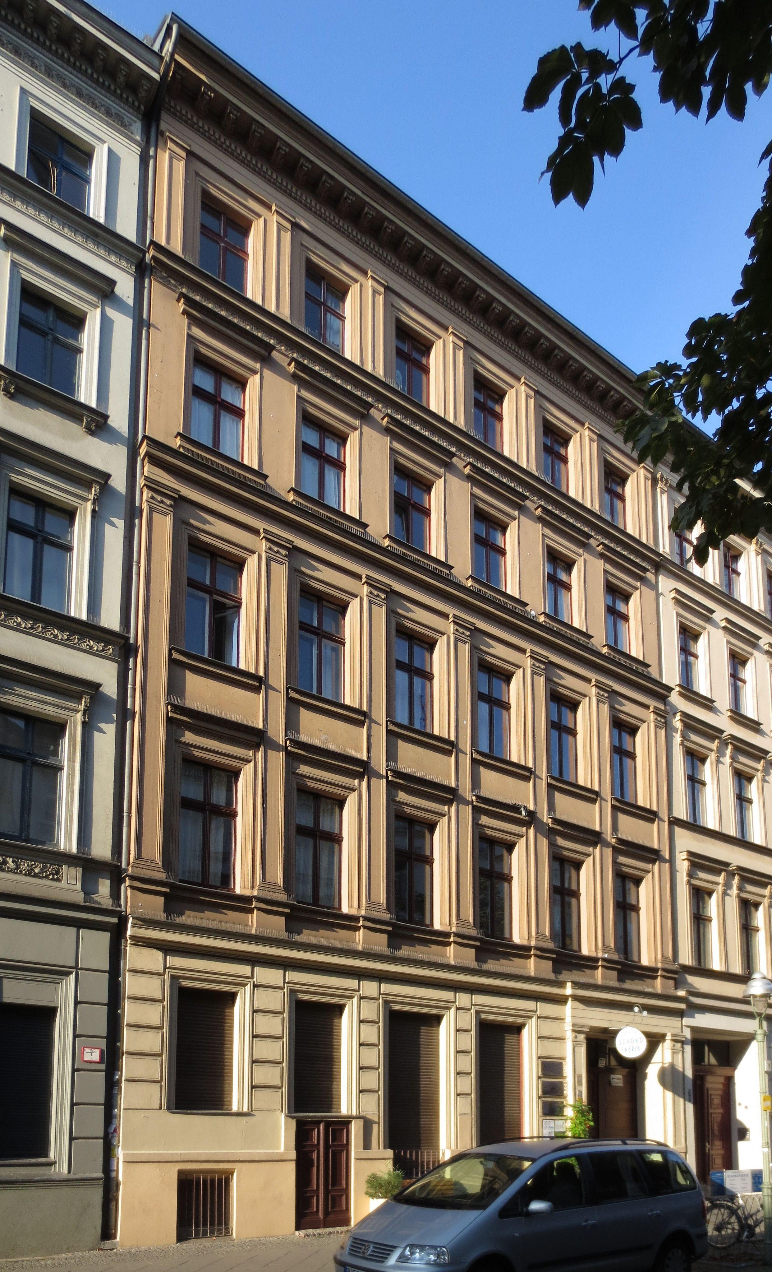 Maniküre Berlin Kreuzberg  Datei Berlin Kreuzberg Naunynstrasse 72 Mietshaus