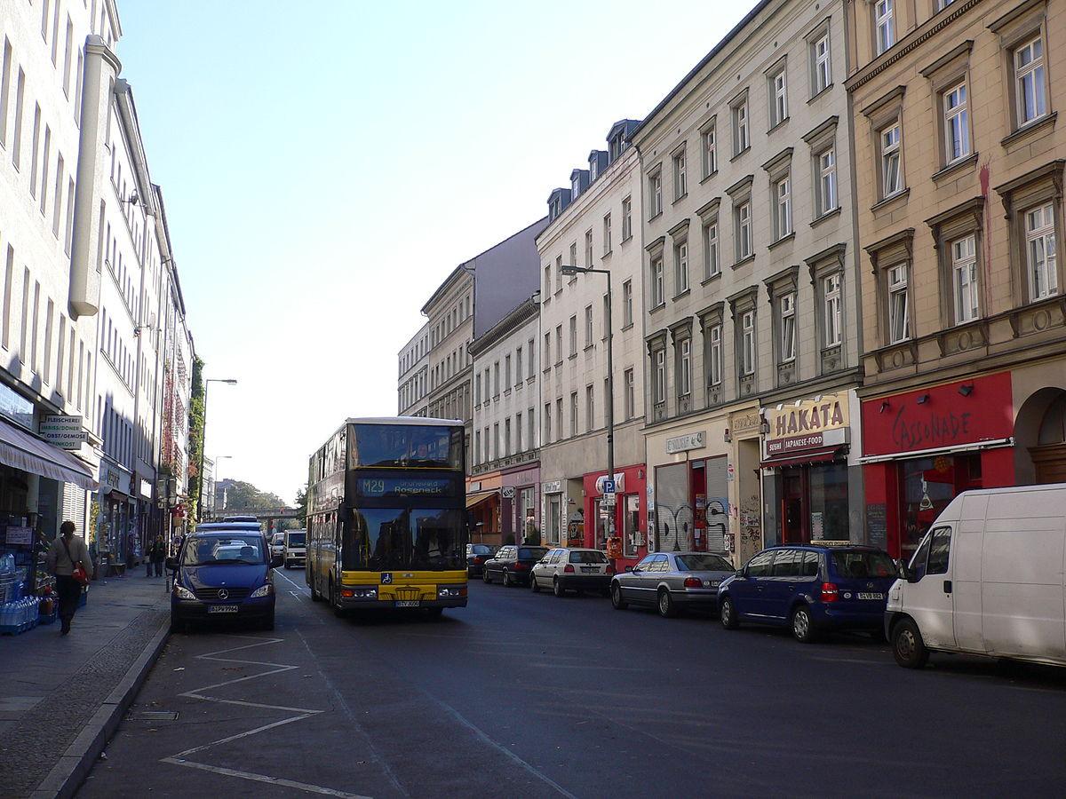 Maniküre Berlin Kreuzberg  Oranienstraße –