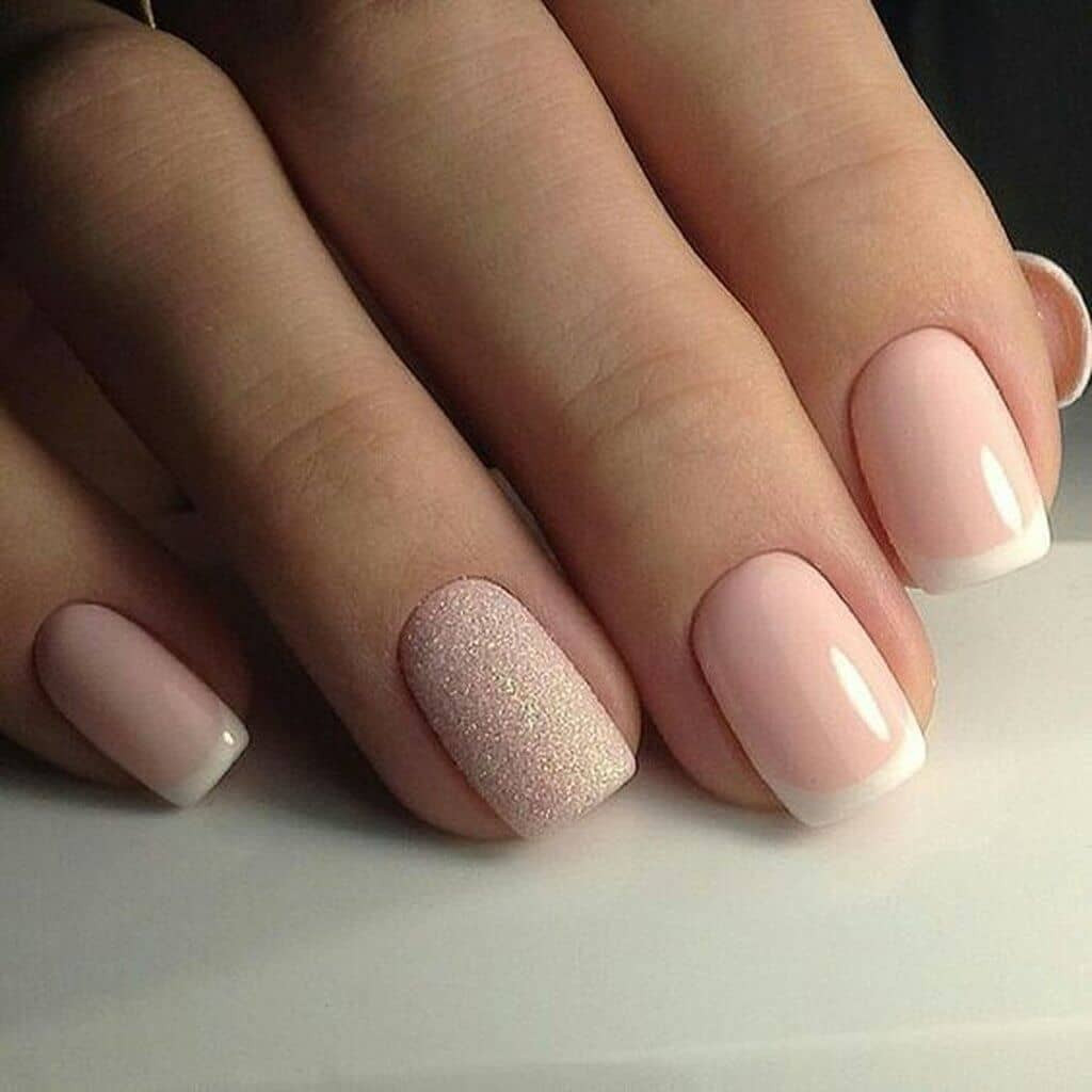 Maniküre French  50 Awesome French Tip Nails to Bring Another Dimension to
