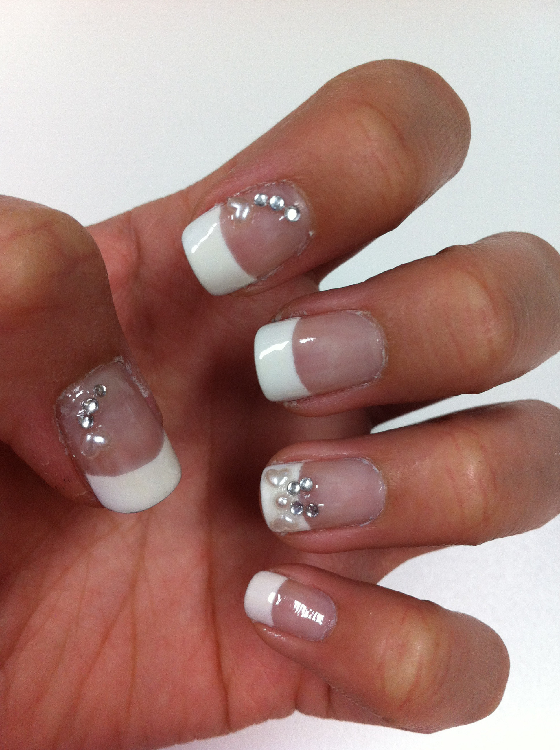 Maniküre French  12 Lovely French Manicure