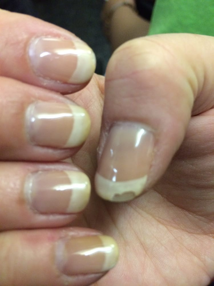 Maniküre Gel  Gel French Manicure BJ31 Regardsdefemmes
